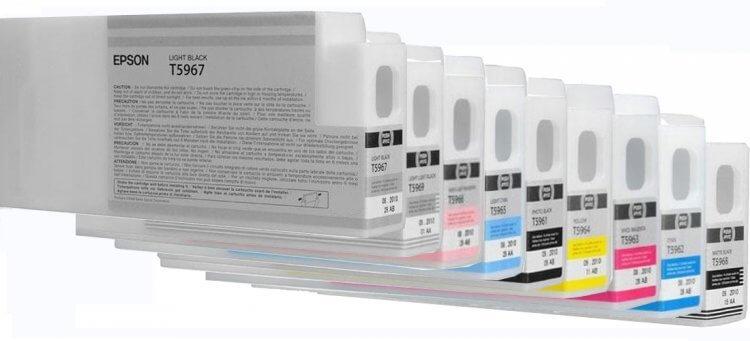 Перезаправляемые картриджи для Epson Stylus Pro 7890Перезаправляемые картриджи изготовлены по аналогии с оригинальными картриджами, однако позволяют дозаправлять каждый картридж снова и снова.<br>