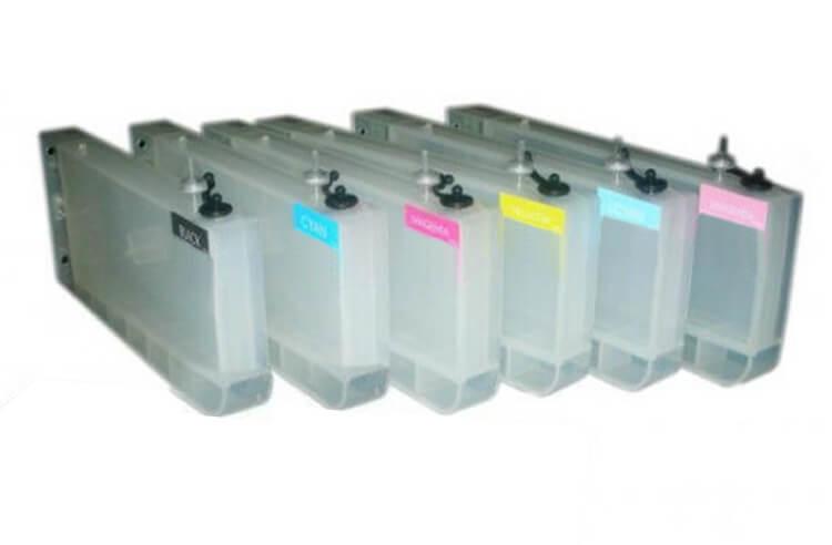 Перезаправляемые картриджи для Epson Stylus Pro 7500  цена и фото