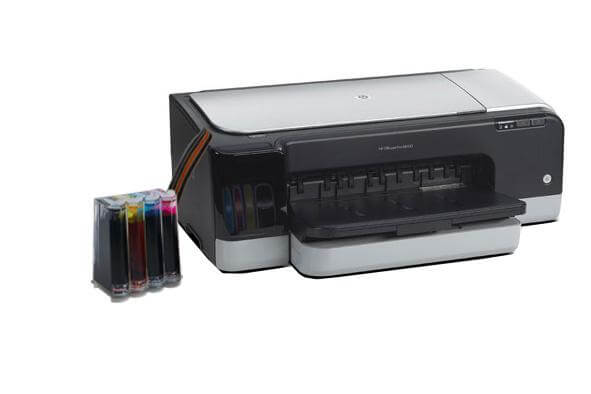 фото Принтер HP OfficeJet K8600 dn с СНПЧ