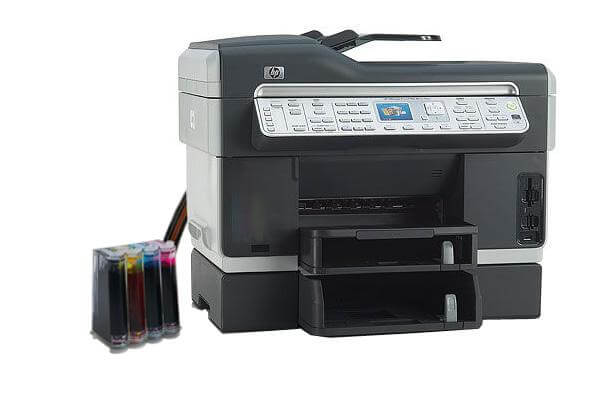 фото МФУ HP OfficeJet L7780 с СНПЧ