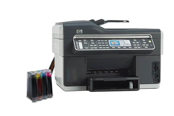 фото МФУ HP OfficeJet L7600 с СНПЧ