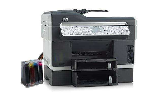 фото МФУ HP OfficeJet L7700 с СНПЧ