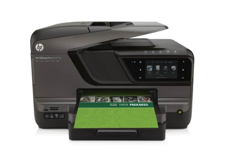 фото МФУ HP OfficeJet  Pro 8600 Plus с СНПЧ