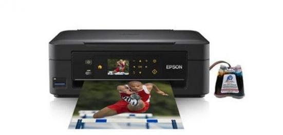 фото МФУ Epson Expression Home XP-402 с СНПЧ
