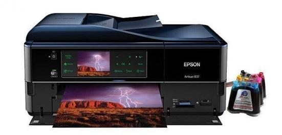 изображение МФУ Epson Artisan 837 Refurbished by Epson с СНПЧ и чернилами