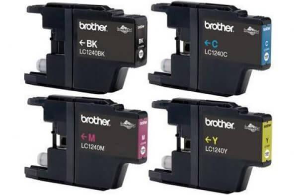 Комплект оригинальных картриджей Brother MFC 885CWПодходит к моделям: Brother MFC 885CW<br>