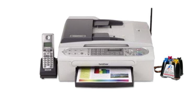 фото МФУ Brother INTELLIFAX-2580C с СНПЧ