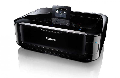 фото МФУ Canon PIXMA MG5350 с перезаправляемыми картриджами