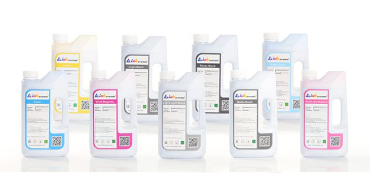 Комплект ультрахромных чернил INKSYSTEM для Epson K3 Pro 4800 1 л. (9 цветов) от Inksystem