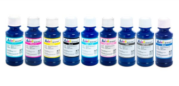 Чернила INKSYSTEM для фотопечати на HP Photosmart 8750xi (фоточернила)Комплектация: 9 банок по 100 мл, цвета: Cyan, Magenta, Yellow, Black, Light Cyan, Light Magenta, Gray, Light Gray, Blue. Фоточернила INKSYSTEM обеспечивают точную цветопередачу, при этом качество отпечатков на 95-98% соответствует оригинальным чернилам.<br>
