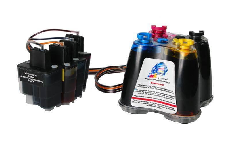 СНПЧ Brother MFC 3240CN (картриджи LC950M. LC950С, LC950Y, LC950BK) снпч brother mfc 420cn картриджи lc950m lc950с lc950y lc950bk