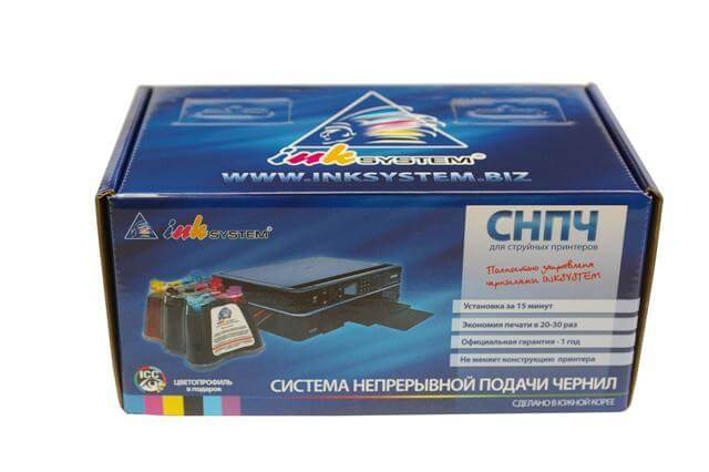 СНПЧ Brother DCP 340CW
