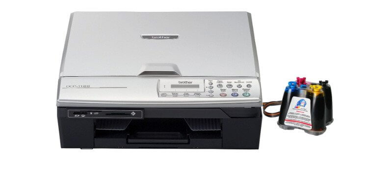 Brother DCP 310CN с СНПЧ
