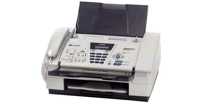 Brother FAX 1840C с СНПЧ 3