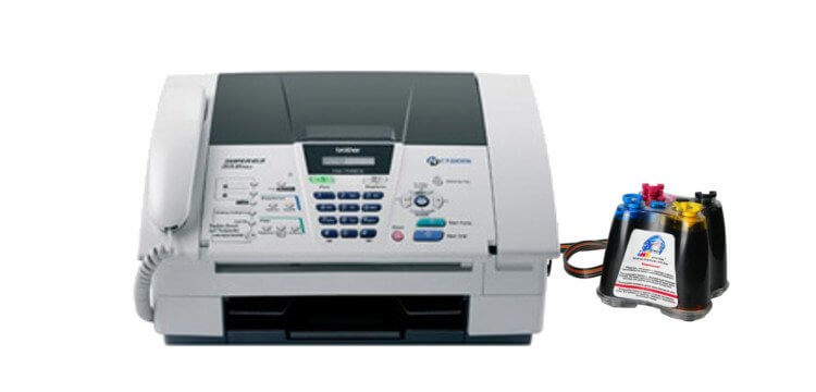 Brother FAX 1840C с СНПЧ 4