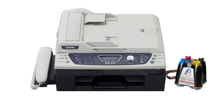Brother FAX 2440C с СНПЧ