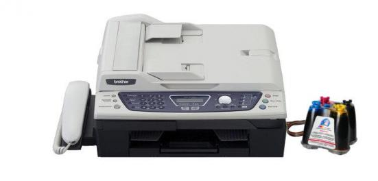 фото МФУ Brother INTELLIFAX 2440C с СНПЧ