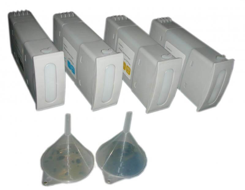 Перезаправляемые картриджи для HP 90 от Inksystem