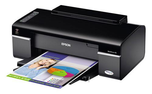 фото Принтер Epson WorkForce 40 с СНПЧ