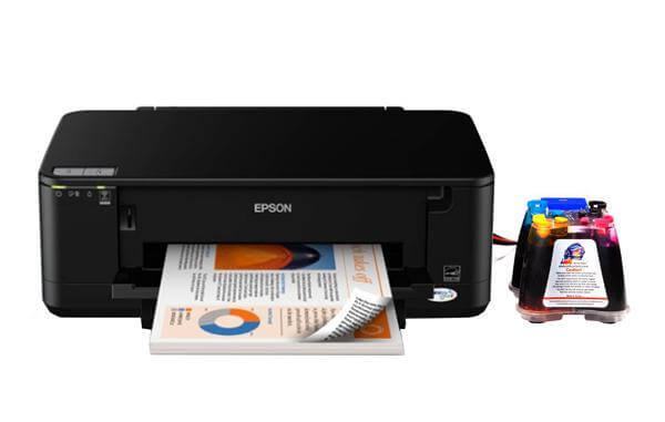 фото Принтер Epson WorkForce 60 с СНПЧ