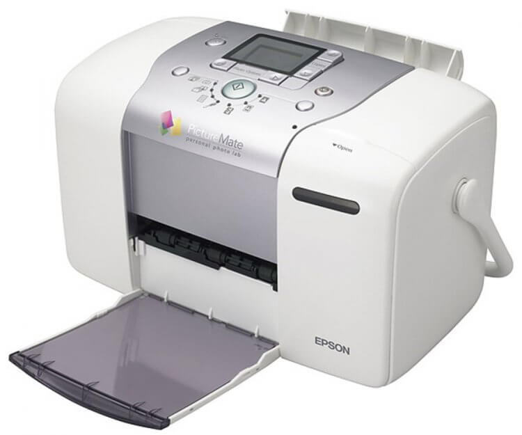 Epson Picture Mate 100 с СНПЧ
