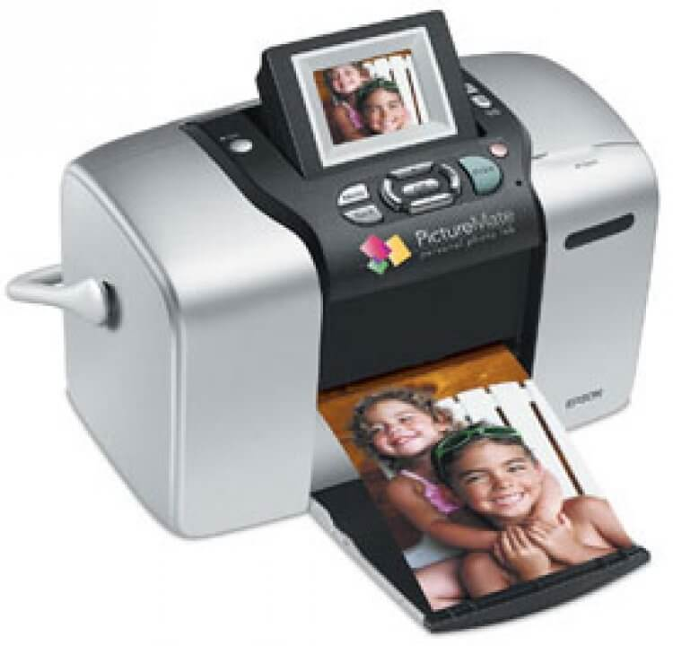 Epson Picture Mate 500 с СНПЧ