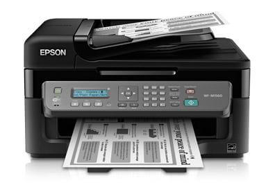 фото МФУ Epson WorkForce WF-M1560 с СНПЧ