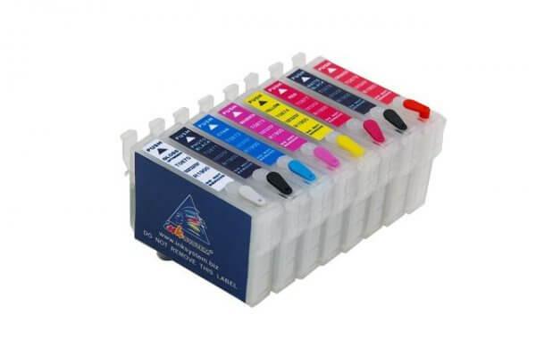 Перезаправляемые картриджи для Epson Stylus Photo R2880 картридж epson t0964 yellow для stylus photo r2880 c13t09644010