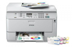 фото МФУ Epson WorkForce Pro WP-4595DNF с перезаправляемыми картриджами