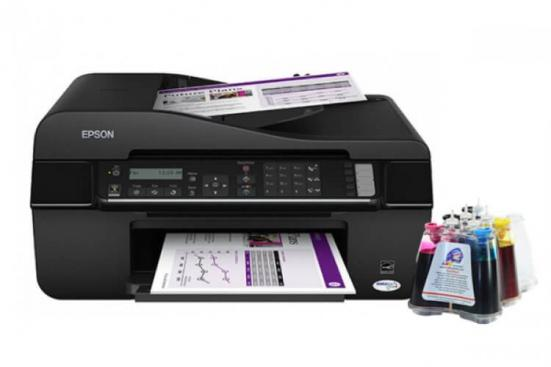 фото МФУ Epson Stylus Office TX510FN с СНПЧ