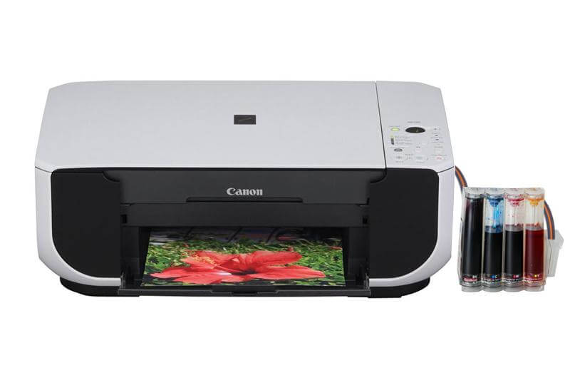 фото МФУ Canon PIXMA MP190 с СНПЧ