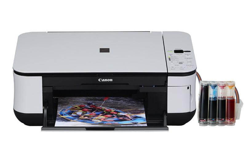 Canon MP260 с СНПЧ