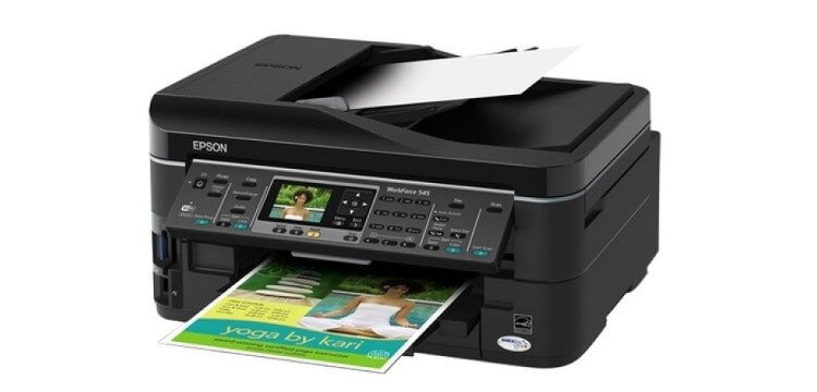 Epson WorkForce 545 Refurbished с СНПЧ
