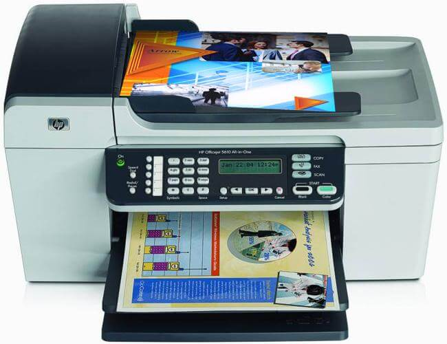 фото МФУ HP Officejet 5610, 5610v, 5610xi с СНПЧ