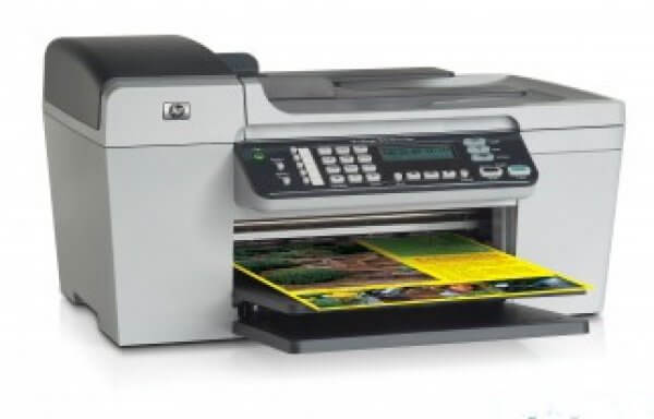 HP Officejet 5615 с СНПЧ