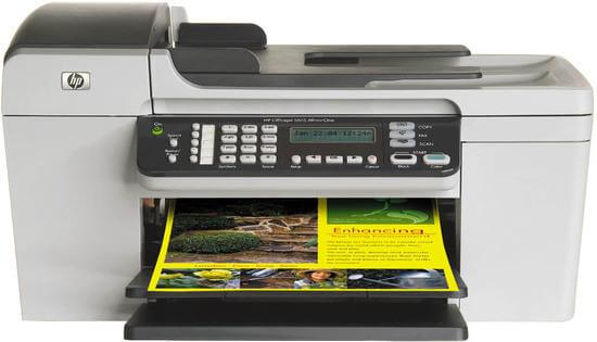 фото МФУ HP Officejet 5615 с СНПЧ