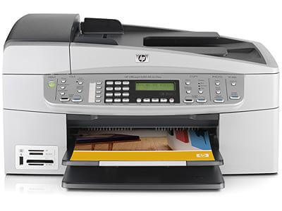 фото МФУ HP OfficeJet 6313 с СНПЧ