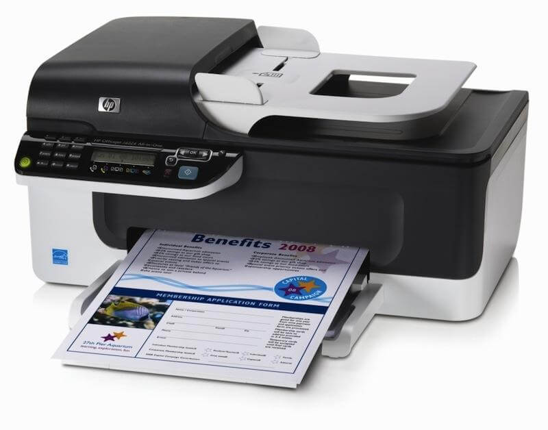 фото МФУ HP OfficeJet J4524 с СНПЧ