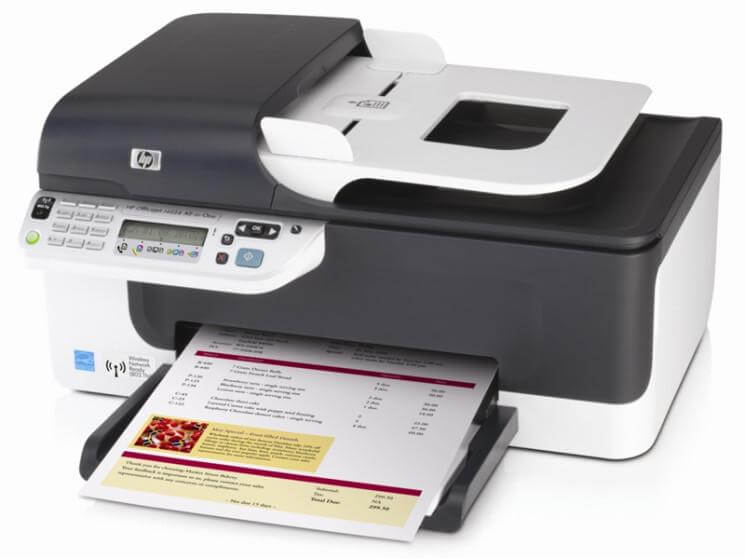 фото МФУ HP OfficeJet J4624 с СНПЧ