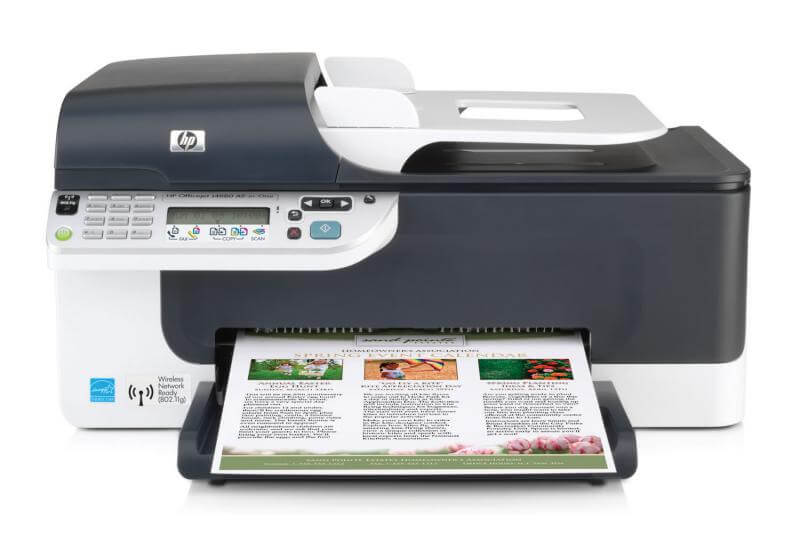фото МФУ HP OfficeJet J4680 с СНПЧ