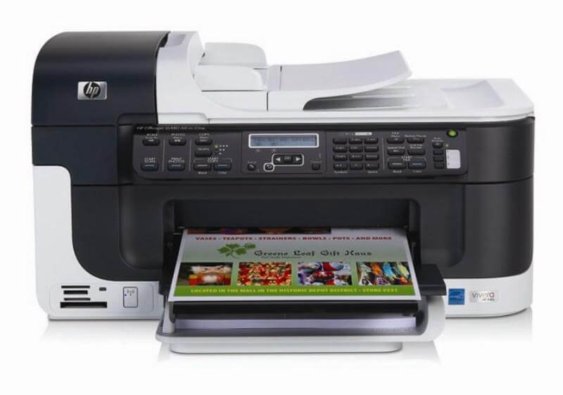 фото МФУ HP Officejet J6410 с СНПЧ