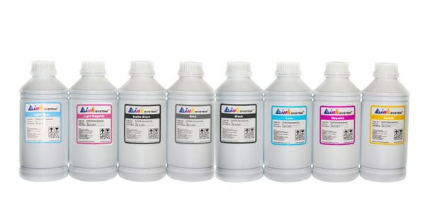 Пигментные чернила для HP Z2100, 1000мл (комплект)