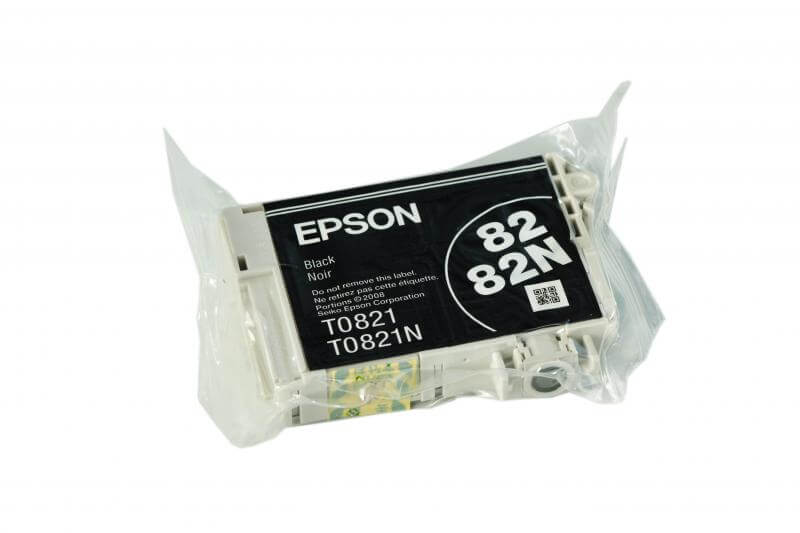 Картридж Epson T0821 Black (чёрный) код C13T08214A10 6 color printer continuous ink supply system for epson tx700w tx710w t59 t50 tx650 more