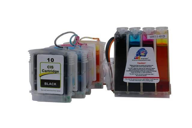 СНПЧ HP Business Inkjet 2500 (картриджи 10, 11)Производство: Южная Корея Материал корпуса СНПЧ: поликарбонат Материал шлейфа: силикон Чипы: аналогичные оригинальным Цветопрофиль: бесплатно<br>