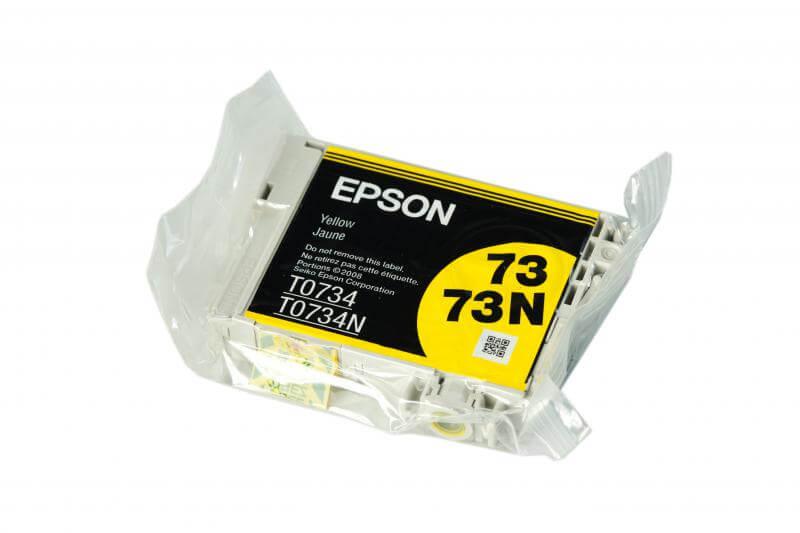 все цены на  Картридж Epson T0734 Yellow (желтый) код C13T07344A10  онлайн