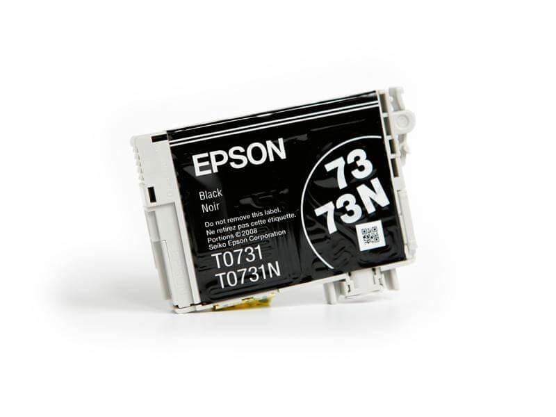 Картридж Epson T0731 Black (черный) код C13T07314A10Подходит к моделям: Epson StylusC79 / C110 / CX3900 / CX4900 / CX5900 / CX6900F / CX7300 / CX8300 / X9300F / TX200 / TX209 / TХ210 / TX219 / TX400 / TX409 / TX410 / TX419 / TX550W / Office T30 / T40W / TX300F / ТХ510FN / TX600FW<br>