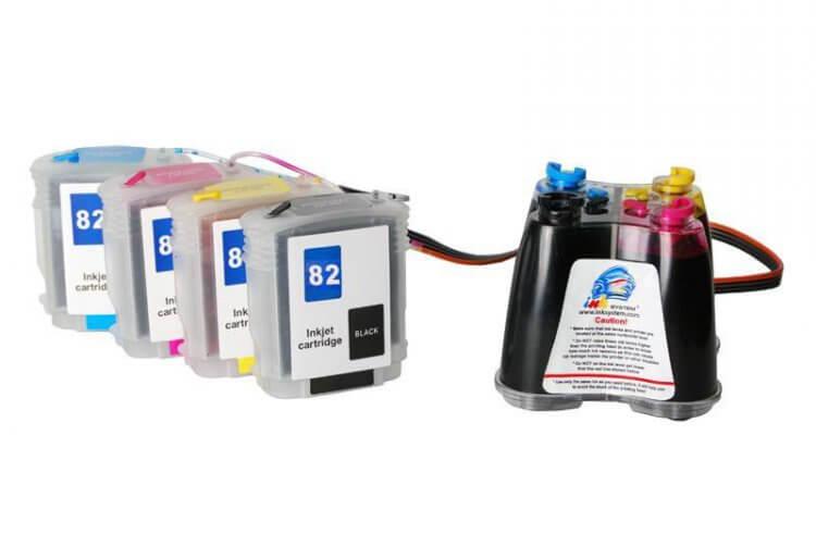 СНПЧ для HP Designjet 750