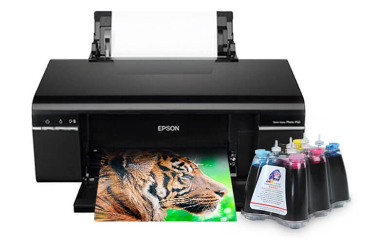 Принтер Epson Stylus Photo P50 с СНПЧ epson stylus photo p50