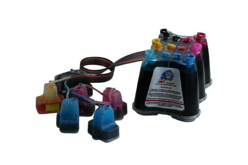 СНПЧ для HP Рhotosmart 3210 (картриджи 177) for hp 363 177 02 801 dye ink for hp photosmart c5180 c6180 c6280 c7160 c7180 c7280 c8180 d7145 3110 3210 3310 8230