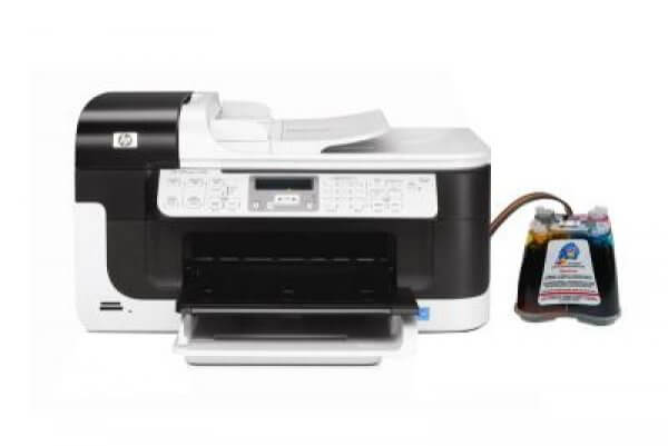 фото МФУ HP OfficeJet 6500 с СНПЧ